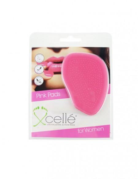 Cuscinetto antiscivolo in lattice rosa per scarpe con tacco alto 2 pz