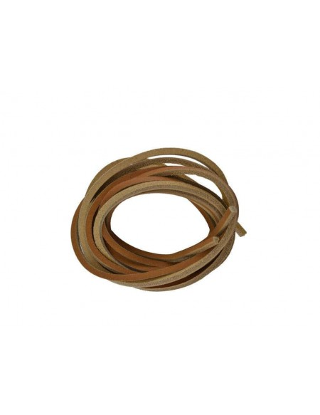 Lacci in cuoio per timberland 120 cm color cuoio