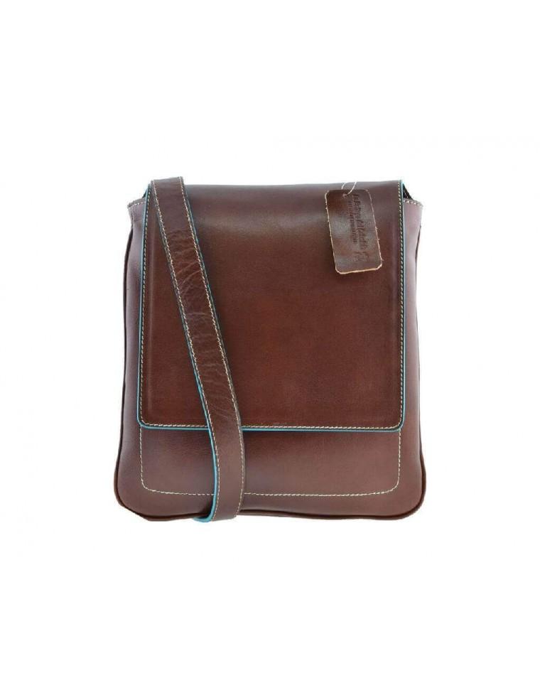Borsa borsello uomo tracolla pelle cuoio porta ipad tablet La ... f21687a1349