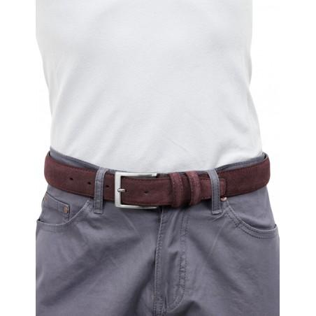 Cintura pelle scamosciata