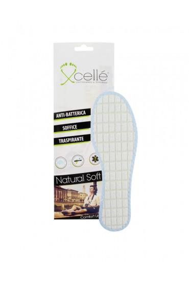Soletta scarpe antiodore in lattice e allume di potassio 2 pz