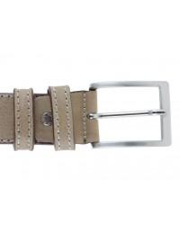 Cintura pelle uomo stile casual cuoio marrone chiaro