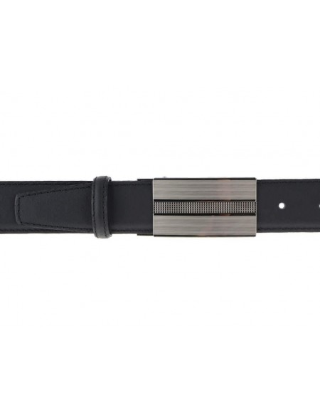 Cintura elegante da sposo nera