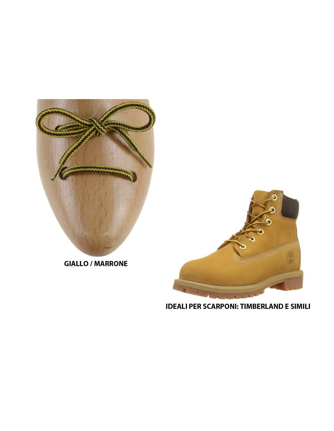 timberland stringhe