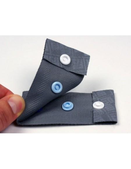 Bottoni a pressione in plastica blu navy Prym 30 pz