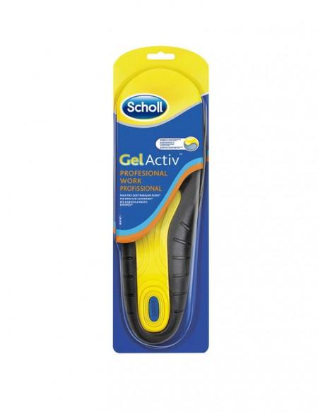 Soletta gel active Scholl per scarpe da lavoro