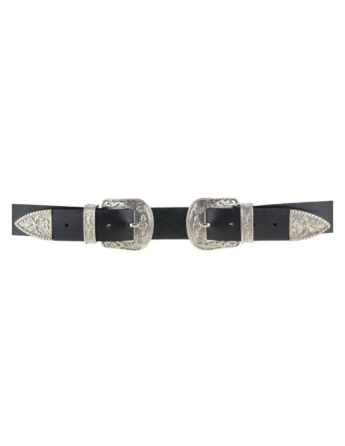 chic classico nuovo stile di varietà larghe Cintura doppia fibbia da donna