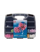 Bottoni a pressione in plastica valigetta da 300 pz
