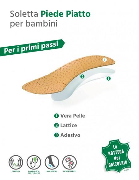 Plantari ortopedici per piedi piatti