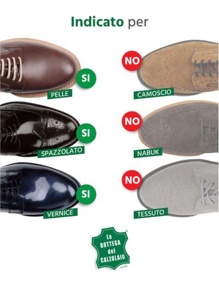 Spugna con lucido per scarpe in pelle