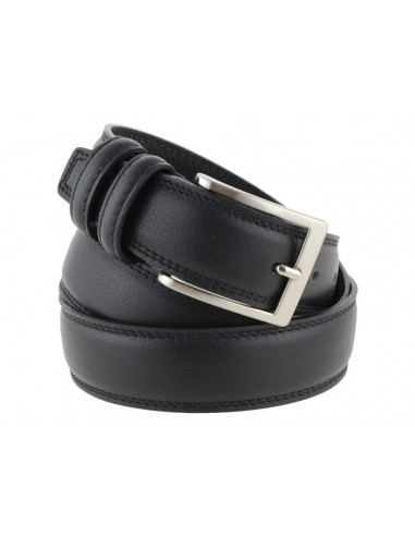 Cintura uomo in pelle nera limited edition