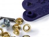 Occhielli per scarpe da 5 mm in metallo oro