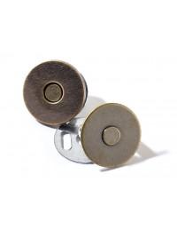 Bottoni magnetici Prym in bronzo anticato