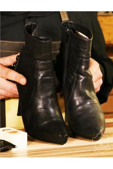 Kit pulizia scarpe da viaggio
