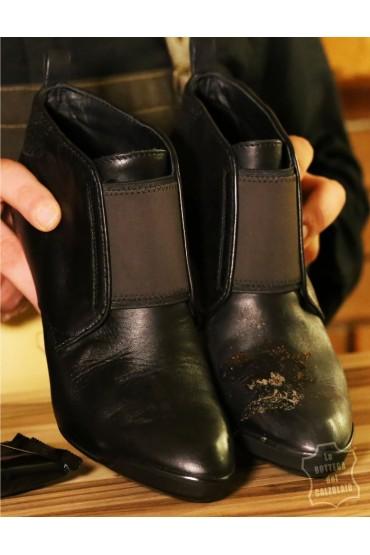 Kit lucidi da scarpe in pelle liscia