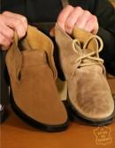 Kit pulizia scarpe di camoscio