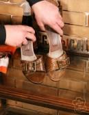 Kit per pulire mobili in legno