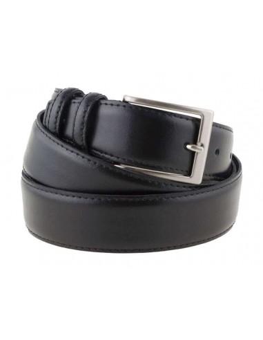 Cintura uomo in pelle nera classica...