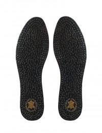 Soletta ultrasottile in lattice nera per scarpe donna