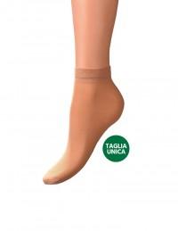 Calze usa e getta color carne per negozi di scarpe