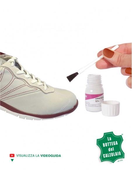 Tintura scarpe in pelle similpelle e tela