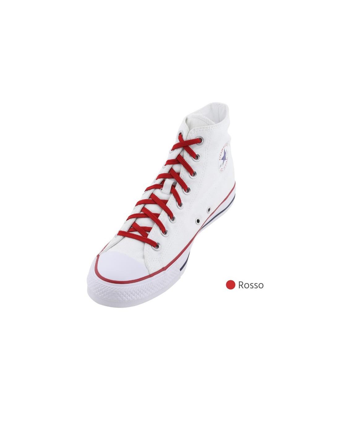Lacci elastici autobloccanti per scarpe da ginnastica di