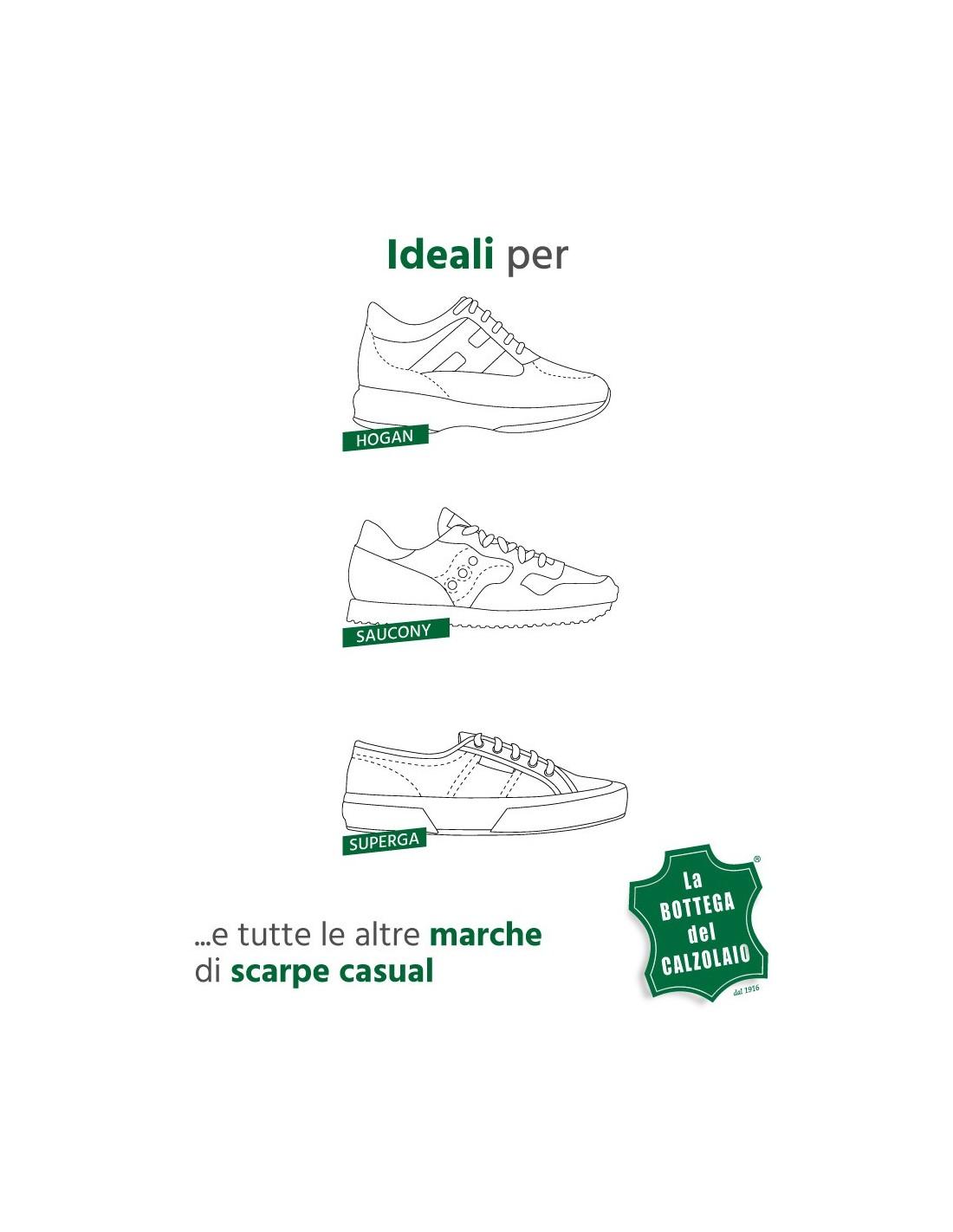 Lacci piatti di varie lunghezze per scarpe casual e scarpe sportive 34a4c06ed38