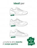Lacci scarpe running bianchi