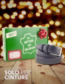 Confezioni regalo natalizie per cinture