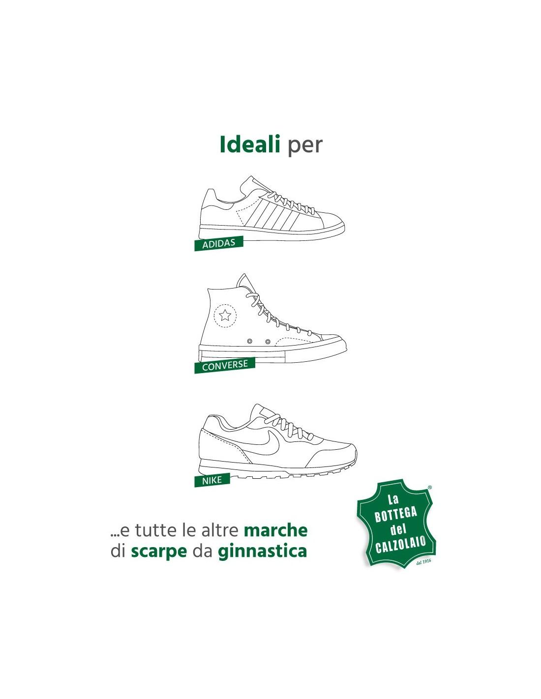 3cff765ec2acc Lacci scarpe piatti per sneakers