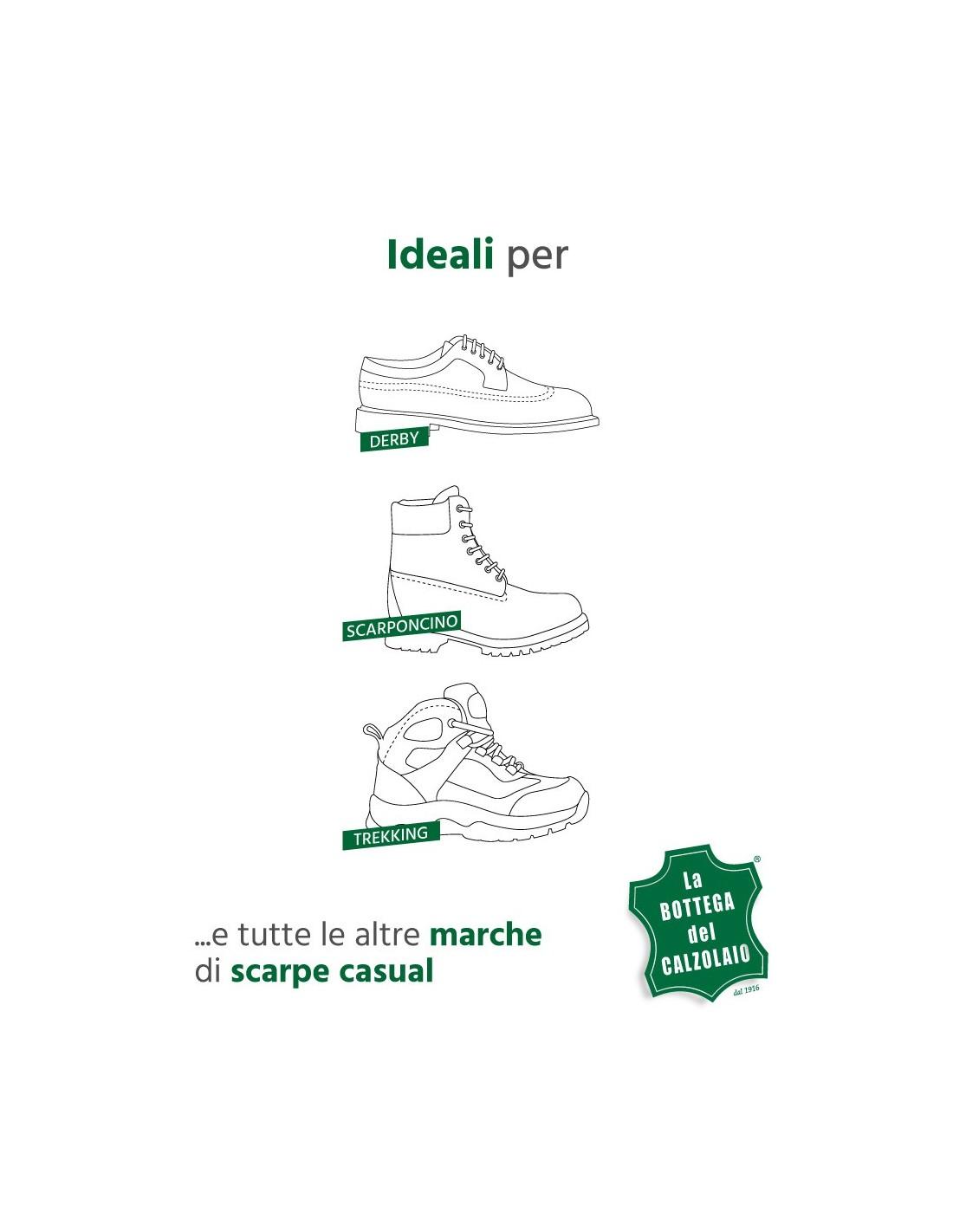 Lacci scarpe tondi in 100% cotone ideali per scarponi da montagna bec508376ea