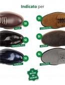Spray per lavare a secco scarpe nabuk camoscio tela e pelle liscia