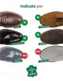 Detergente per togliere macchie d'acqua dalle scarpe