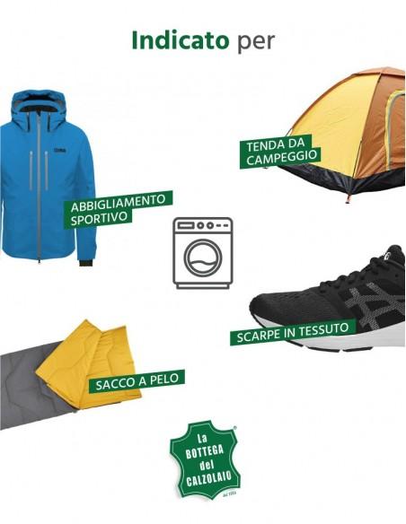 Detersivo liquido per abbigliamento e accessori da montagna