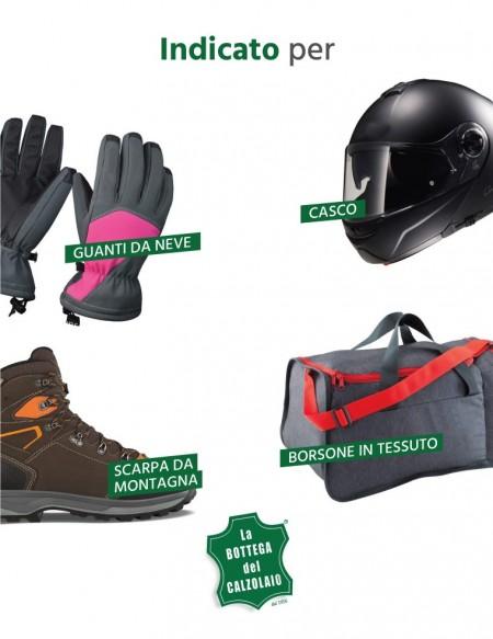 Spray igienizzante per caschi, guanti, scarpe e borsoni da palestra