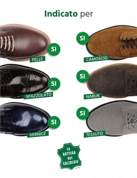 Spray impermeabilizzante scarpe in pelle e tessuto