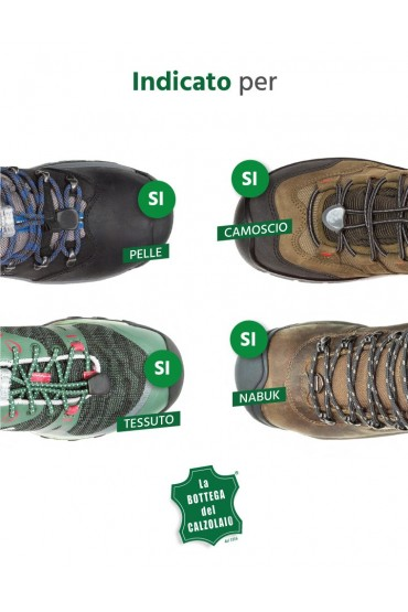 Impermeabilizzante scarpe in camoscio, nabuck e tessuto