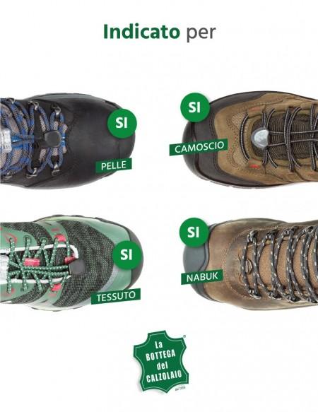 Impermeabilizzante scarpe in pelle e cuoio
