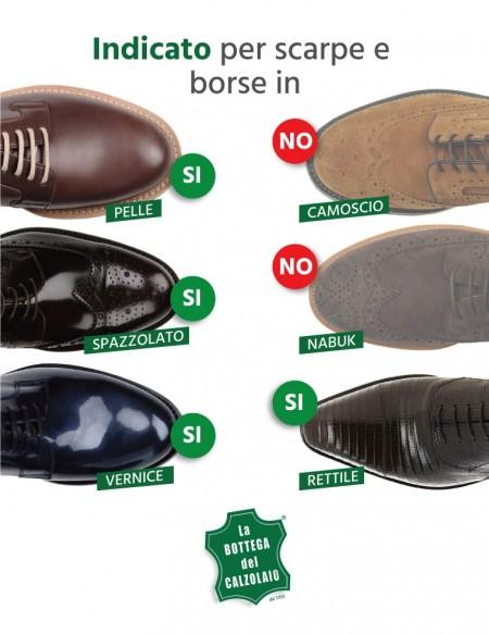 Gel per scarpe in pelle nutriente e ravvivante