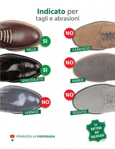 Crema coprente scarpe e accessori in pelle