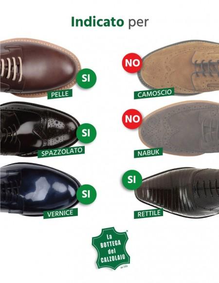 Lacca per lucidare scarpe in pelle