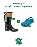 Spray per la pulizia di stivali Hunter e scarpe Crocs