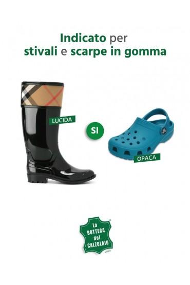 Spray per la pulizia di stivali Hunter e scarpe Crocs