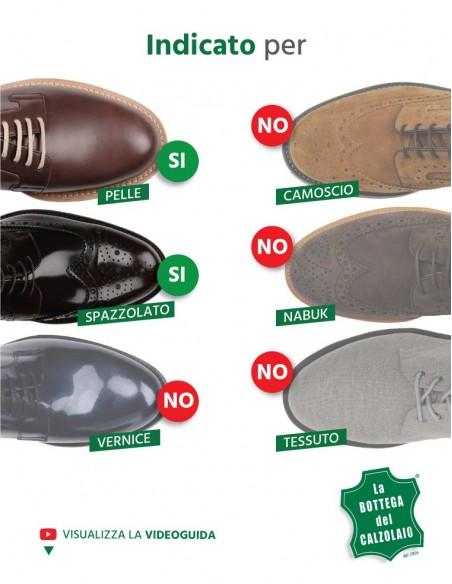 Vernice per scarpe e accessori in pelle nera