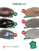 Vernice per scarpe e accessori in pelle marrone scuro