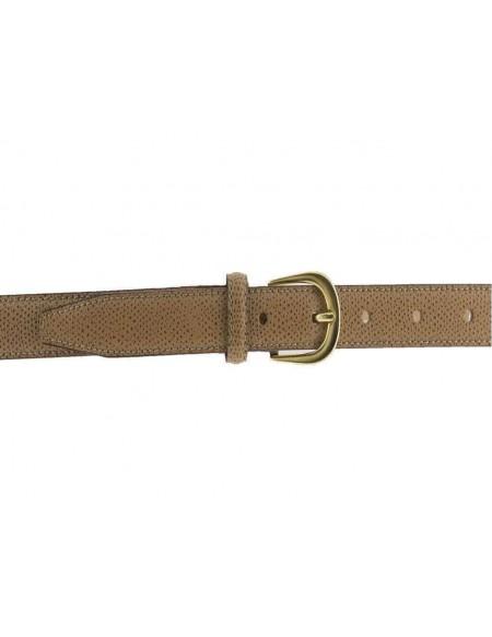 Cintura donna in pelle modello Hermès beige