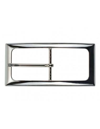Fibbia cinture da donna da 3,5 cm argento