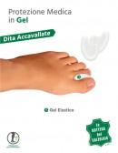 Separadita in gel per dita dei piedi 2 pz