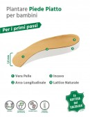 Solette per bambini con arco plantare correttivo piedi piatti 2 pz