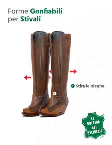 Forme gonfiabili per stivali